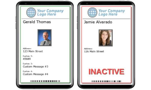 Connect ONE Includes Mobile Badge to Security Management Platform