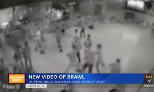 Top 9 Surveillance Videos of the Week: Roller Rink Brawl