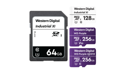 Western Digital Unveils MicroSD Card for AI-Enabled Security Cameras