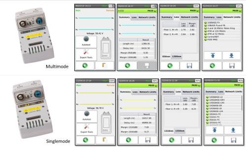 New AEM Fiber Optic Adapters Bring Visual Fault Locator, Volt Meter to Cable Tester