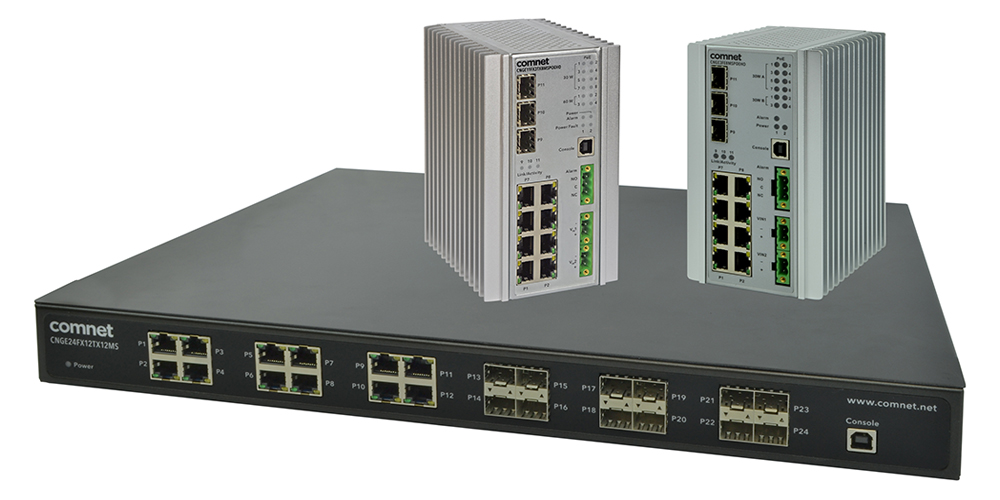 ComNet Managed Switches Available in Convenient Kits