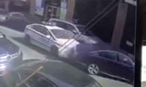 Top 9 Surveillance Videos of the Week: NYPD Traffic Cop Plows Through Stopped Car