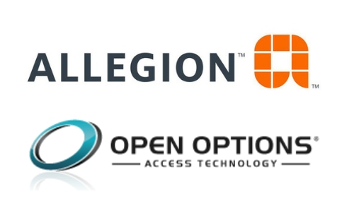 Allegion, Open Options Integrate for IP Access Control Solution