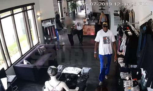 Top 9 Surveillance Videos of the Week: Dennis Rodman Appears to Take Part in Clothing Heist