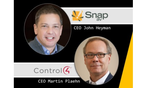 SnapAV, Control4 CEOs Comment on Merger of the Home Automation Giants