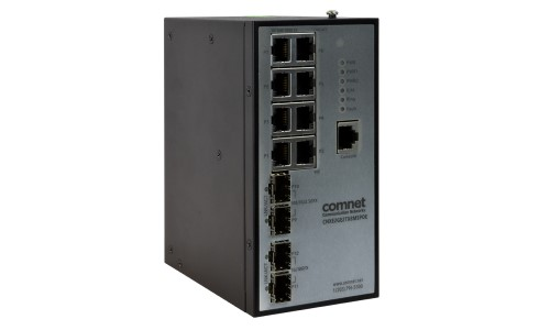 ComNet Releases 10GigE Uplink Managed Switch for High-Bandwidth Applications