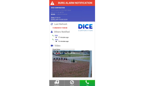 DICE Corp. Releases Video Verification App to Assist Dispatch Process