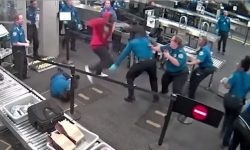 Top 9 Surveillance Videos of the Week: Teen Brawls With TSA Agents