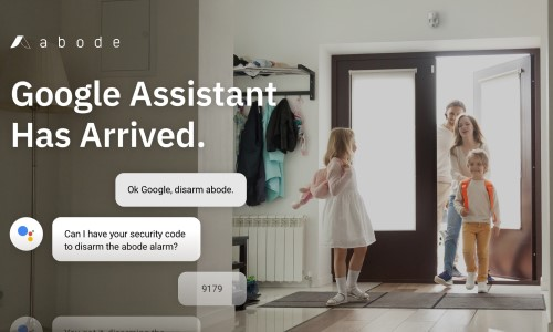 abode Adds Enhanced Google Assistant Support for DIY Smart Home Security Systems