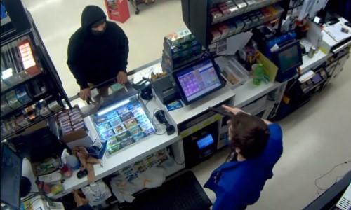Top 9 Surveillance Videos of the Week: Hatchet-Wielding Robber Foiled by Armed Clerk