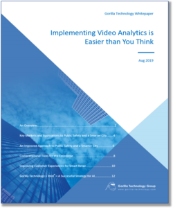 Read: Implementing Video Analytics is Easier than You Think