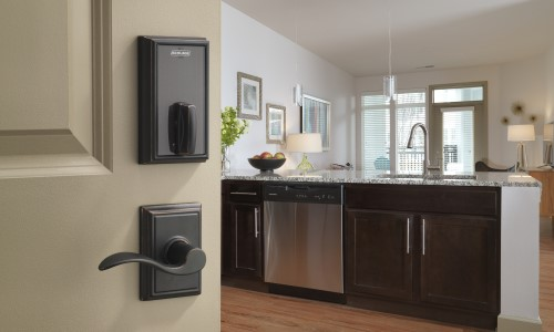 New Schlage Smart Locks Feature Bluetooth Mobile Credential Compatibility for Multifamily Properties