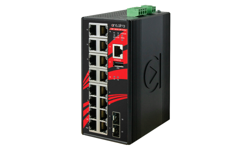 Antaira Releases 18-Port Gigabit Ethernet Managed PoE+ & Non-PoE Switches