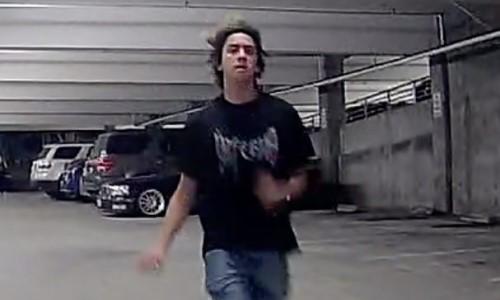 Man Knocks Over 400lb Security Robot in Parking Garage