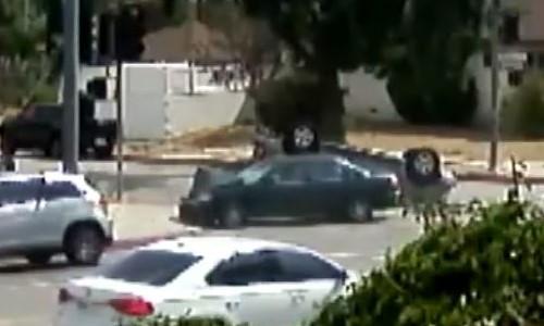 Top 9 Surveillance Videos of the Week: Actor Danny Trejo Rescues Boy in Car Crash