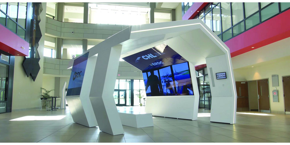 Galileo A/V Processor Enhances Visitor Experience at U.S. Army Corps of Engineers R&D Center