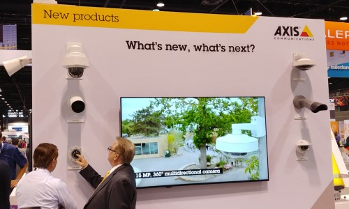 GSX 2019: Axis Showcases New 4K, License Plate, P/T/Z Cameras