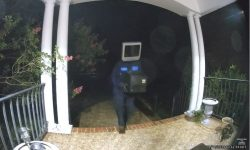 Top 9 Surveillance Videos of the Week: Mystery Person Leaves Old TVs on Neighborhood Doorsteps