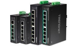 TRENDnet Launches New Industrial Fast Ethernet DIN-Rail Switches