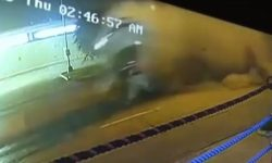 Top 9 Surveillance Videos of the Week: Boxing Champ Crashes Ferrari