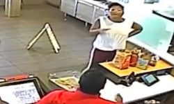 Top 9 Surveillance Videos of the Week: McDonald's Manager Throws Blender at Customer