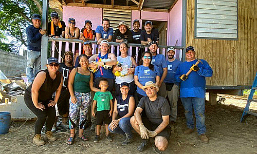 Mission 500 Volunteers Fulfill 2nd Service Trip to Puerto Rico