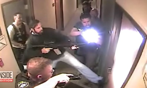 Top 9 Surveillance Videos of the Week: Police Rescue Kidnapped Child