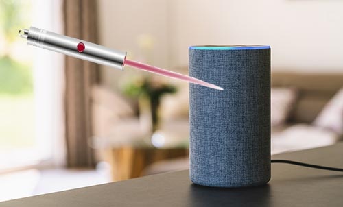 Researchers: Smart Speakers Like Echo, Google Home Can Be Hacked With Light