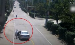 Top 9 Surveillance Videos of the Week: Taxi Driver Rescues Passengers in Driverless Car