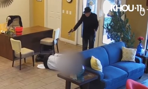 Top 9 Surveillance Videos of the Week: Gangster Grandpa Shoots Property Manager