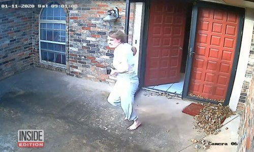 Top 9 Surveillance Videos of the Week: Pajama-Clad Homeowner Chases Down Porch Pirate