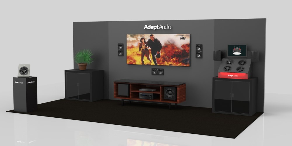 Launch of Adept Audio Brings Loudspeakers Aimed at the Security Industry