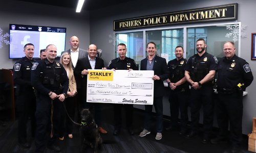 Stanley Security Donation to Help Replace Fallen K-9 Police Officer