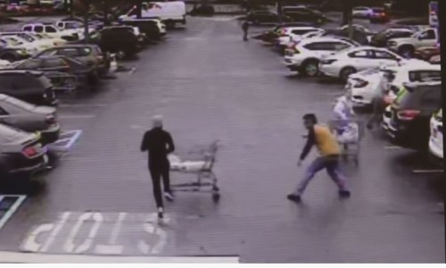 Top 9 Surveillance Videos of the Week: Fleeing Shoplifter Foiled by Cart