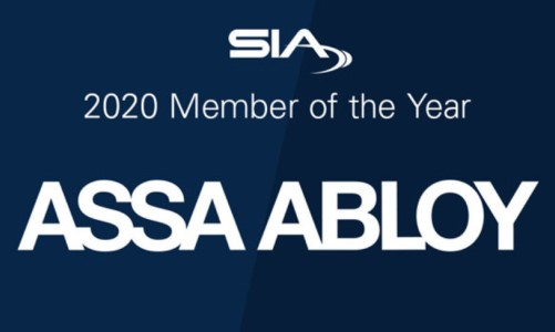 ASSA ABLOY Named 2020 SIA Member of the Year