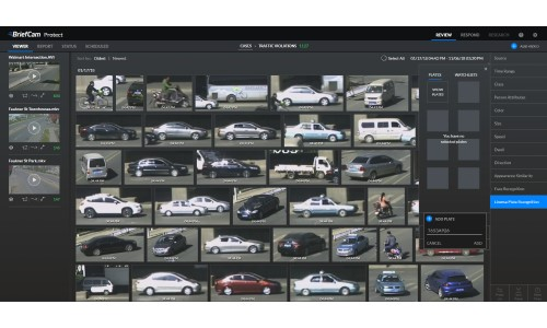 BriefCam Adds LPR, People Counting & More to Analytics Platform