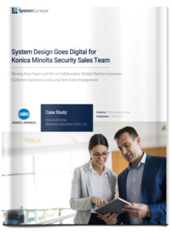 Read: System Design Goes Digital for Konica Minolta Security Sales Team
