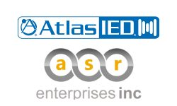 AtlasIED Signs With Manufacturer's Rep Firm ASR Enterprises