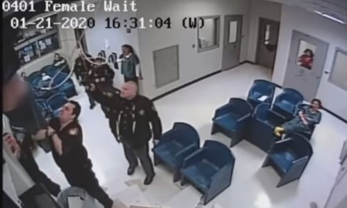 Top 9 Surveillance Videos: Inmate Falls Through Ceiling in Failed Escape Attempt
