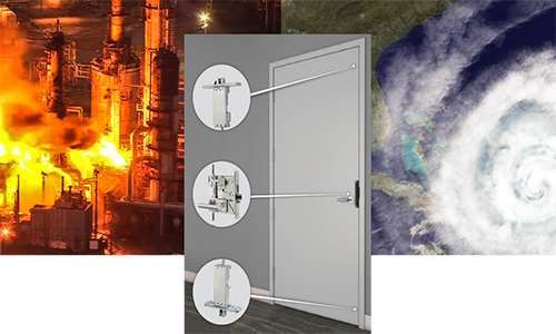 ASSA ABLOY Says Its Latest Door Can Withstand Explosions, Hurricanes & Fire