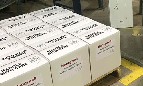 Honeywell Converts Facilities to Produce Hand Sanitizer During COVID-19 Pandemic
