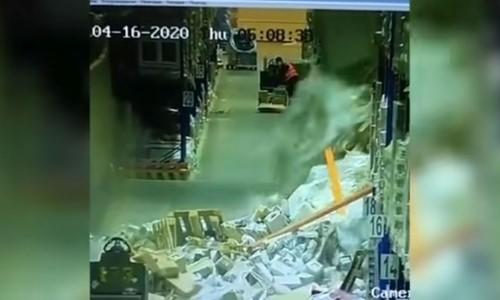 Top 5 Surveillance Videos of the Week: Forklift Driver Falls Asleep, Destroys Warehouse