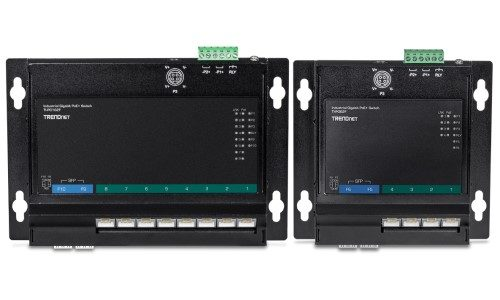 TRENDnet Introduces New Industrial Gigabit PoE+ Wall-Mounted Switches