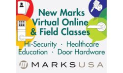 Read: Marks USA to Hold Free Virtual Online, Field Training Locking & Door Hardware Classes