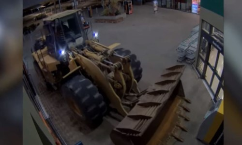 Top 5 Surveillance Videos of the Week: Thieves Steal ATM With Front-End Loader