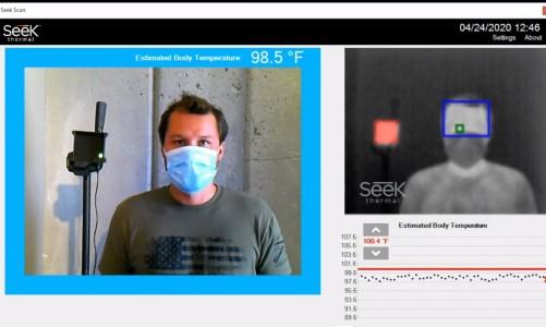 Seek Thermal Debuts New Skin Temperature Screening System