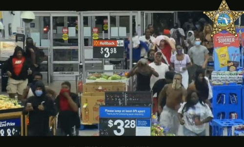 Top 5 Surveillance Videos of the Week: Hundreds of Looters Storm Walmart