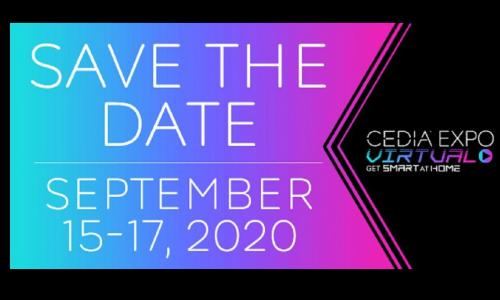 CEDIA Expo Virtual Experience Dates Revealed