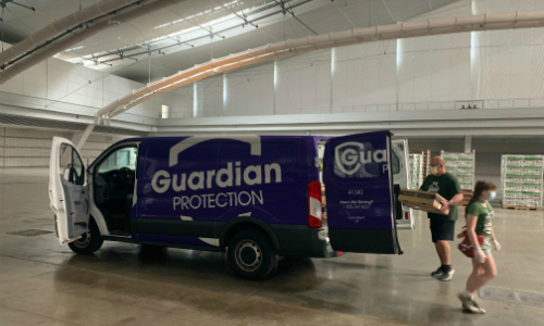 Guardian Protection Partners to Help Fight Food Insecurity