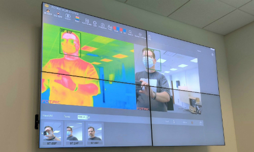 Hiperwall HidraLink Video Wall Now With Thermal Imaging Support